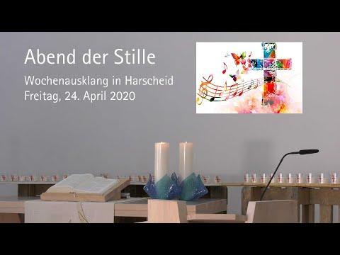 Abend der Stille: Andacht in Harscheid am 24. April 2020