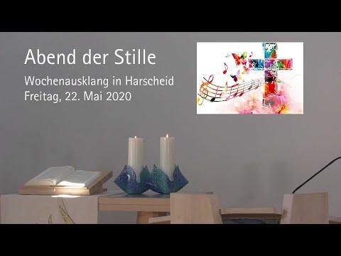 Abend der Stille: Andacht in Harscheid am 22. Mai 2020