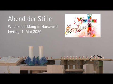 Abend der Stille: Andacht in Harscheid am 1. Mai 2020